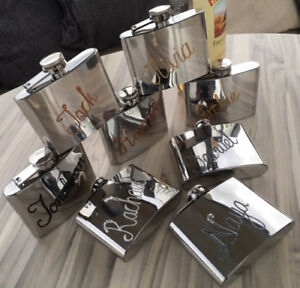 Personalised Drinking Hip Flask