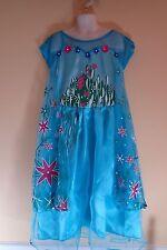 Frozen Fever Elsa Inspired Girls Dress Costume Dress-up Party Dress  Size 7-8 Yr
