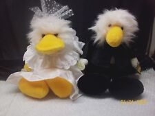Ganz The Heritage Collection Duck Billed Platypus Plush Stuffed Bride Groom 11""