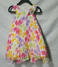 Toddler Girl 2t  Multicolored butterflies Dress