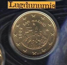 Saint Marin 2009 - 50 Centimes D'Euro - 50 000 exemplaires Provenant du BU RARE
