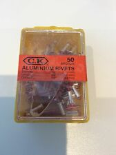 CK TOOLS 3.15x9mm MEDIUM ALUMINIUM RIVETS T3819A 412