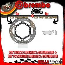 KIT-DMP3 DISCO E PASTIGLIE BREMBO ANTERIORE SUZUKI DRZ E 400CC 2004- [TT+FLOTTAN