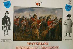 A Call To Arms 1/32 Napoleonic Waterloo British Inniskilling Dragoons Series 27