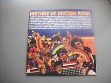 HISTORY OF BRITISH ROCK --GATEFOLD 2 LP--VINYL ALBUM
