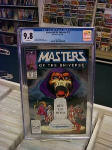 MASTERS of the UNIVERSE #12 (Marvel, 1988) CGC Graded 9.8! ~HE-MAN ~White Pages