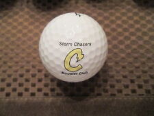 LOGO GOLF BALL-CHANHASSEN HIGH SCHOOL STORM CHASERS BOOSTER CLUB....