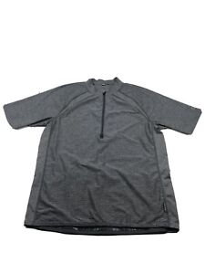 Club Ride Cycling Jersey Size L Mens Gray