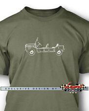 Austin Mini Moke T-Shirt for Men - Multiple Colors & Sizes - British Classic Car