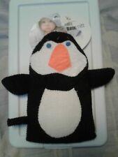 New with tags bath mitt penguin
