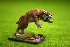 Deezee Miniatures Smilodon o Sabre Tooth Tiger (Ataque) dz13 28 Mm Wargames