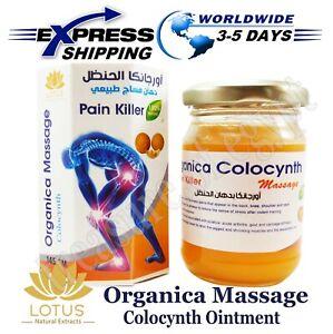 Lotus Organica Massage Natürlich Salbe Colocynth Handal Schmerzmittel 145 gm