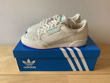 Adidas Continental 80 - UK 9.5 - US 10 - Cream - Pink - New in box