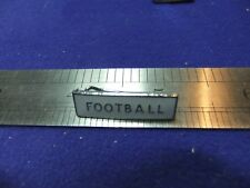 vtg badge football bar badge school scouts sport club assocn 1950s 60s soccer