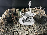 3D printed Dragonlock Giant Spider V2 miniature 28mm