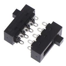 2pcs 12a 250v 3 Position 8 Pin Toggle Slide Switch Lq 103h Hair Dryet6yhu