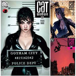 Catwoman U PICK comic 1-83 51 58 72 74 Adam Hughes 2002 DC Batman Zatanna