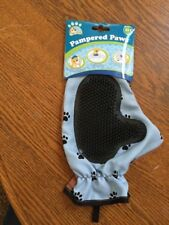 Pampered Paws Grooming Mitt For Bathing Fur Removal 3 In 1