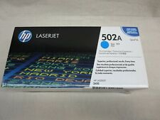 HP Q6471A 502A Cyan Toner Cartridge LaserJet 3600 Genuine New Sealed Box