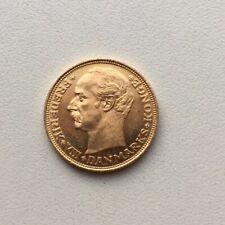 1908 Frederik VIII Danmarks Konge 20 Kroner Gold coin