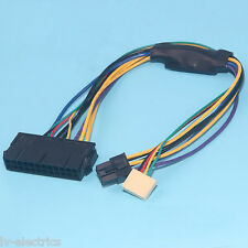 ATX 24pin to Motherboard 2-port 6pin adapter Power supply cable HP elite 8200