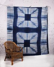 Handmade Tie & Dye Mandala Shibori Wall Hanging Tapestry Decor