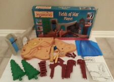 Disney Pocahontas Fields Of War Playset Mattel Vintage Complete with Box