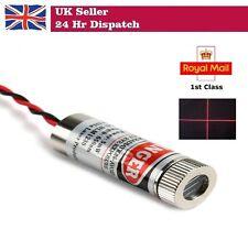 650nm 5mW RED CROSS Laser Module 5V Industrial Grade