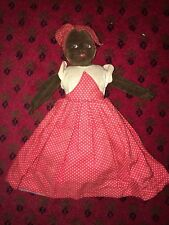 Chad Valley Cloth Topsy Turvy Ethnic Cloth Doll Very Rare