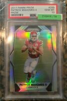 *BUYBACK PACK PLEASE READ* PATRICK MAHOMES 2017 PRIZM RC PSA 10 CHASE PACK