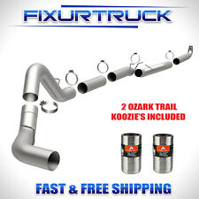 "Magnaflow 5"" Down Pipe Back Exhaust For 01-10 GMC Chevy Duramax 6.6L"