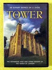 The Tower  (DVD, 2-Disc Set) 2001 8-Part Series ~ London Landmark Show Video ~