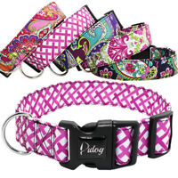 4cm Wide Tribal Pet Doggy Dog Collars Adjustable Nylon Collar Small Medium Large