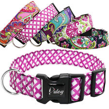 4cm Wide Tribal Pet Doggy Dog Collars Adjustable Nylon Collar Small Medium Large