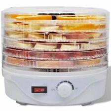 vidaXL Voedseldroger met 6 Stapelbare Lades Dehydrator Voedseloven Droogoven
