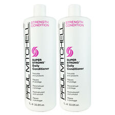 Paul Mitchell Super Strong Daily Conditioner 33.8 oz (Pack of 2)