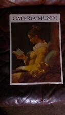 Galeria Mundi A Journey Through The Galleries, In 4 Languages, 1980 HCDJ,