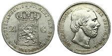 Netherlands - 2½ Gulden 1863
