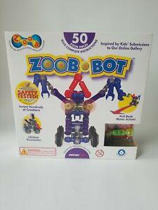 NOB Zoob BotMoving Building Modeling System 50 Piece Kids Construction Set Zoob
