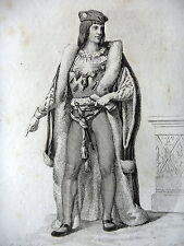 GRAVURE ANCIENNE 19e - CHARLES DUC D'ORLEANS