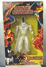 """Marvel Universe Moon Knight 10"""" Fully Poseable Figure Toy Biz Mint in Box"""