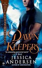 DAWN KEEPERS Jessica Andersen syfy romance thriller Mayan gods artifacts PB New