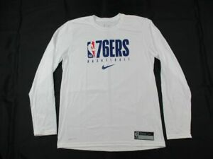 Philadelphia 76ers Nike Long Sleeve Shirt Men's NEW Multiple Sizes