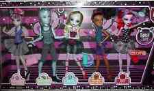 Monster High Dance Class 5 Pack - Rochelle, Gil, Robecca, Lagoona, Operetta