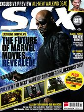 SFX #244 3/2014 THE FUTURE OF MARVEL MOVIES Walking Dead Preview JAMES GUNN @New