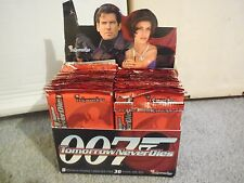 1X 1997 TOMORROW NEVER DIES PACK Bulk Lot Available JAMES BOND Fresh From a box