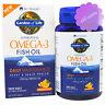Minami Nutrition, Garden of Life, Omega-3 Fish Oil, Orange Flavor, 60 Softgels