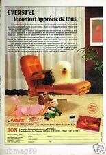 Publicité advertising 1983 Le Fauteuil Everlax Everstyl