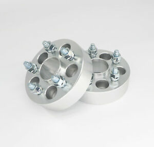 """4pc 32mm (1.25"""") Wheel Spacers   5x114.3   60.1   12x1.5   for Lexus Toyota"""