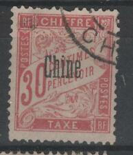 Chine (Bureaux Français) - Taxe n° 5 oblitéré - C: 15,00 €
